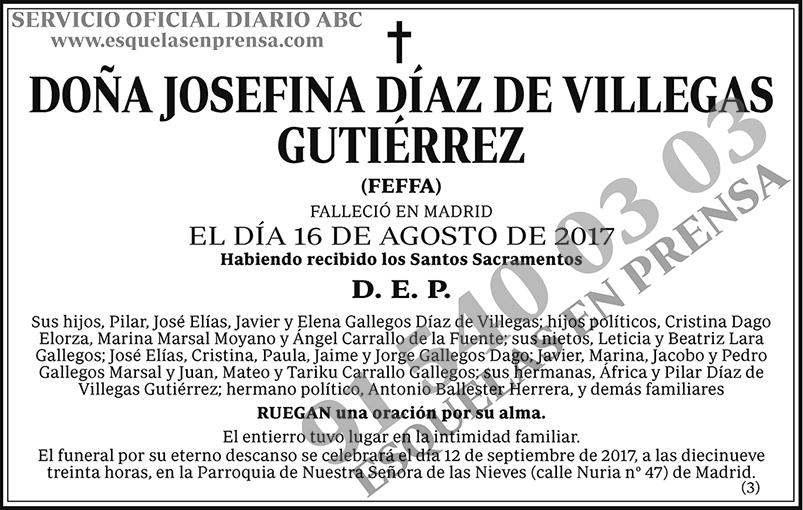 Josefina Díaz de Villegas Gutiérrez